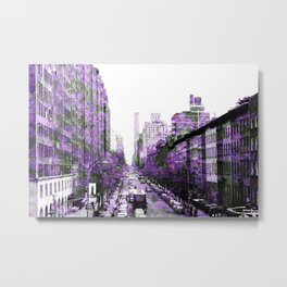 Nature of The City Metal Print