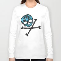 punk rock Long Sleeve T-shirts featuring Punk Rock Never Dies by Even In Death