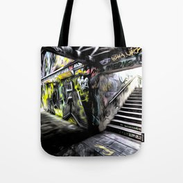 London Graffiti Art Tote Bag