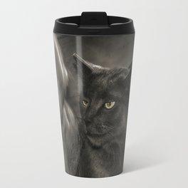 Cat Versus Dog Travel Mug
