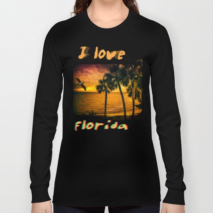 Christmas in Florida Long Sleeve T-shirt