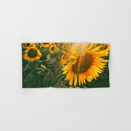 summer in the fields Hand & Bath Towel