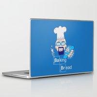 baking Laptop & iPad Skins featuring Baking Bread by DarkChoocoolat