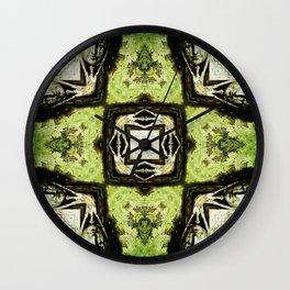 Textured Masquerade  Wall Clock