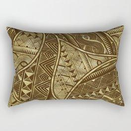 Ethnic Tribal Pattern Art N1 Rectangular Pillow