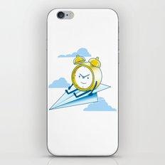 Times Flies iPhone & iPod Skin