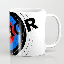 Terror Target Coffee Mug