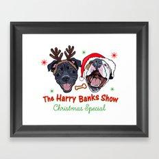 Harry Banks Show Christmas Special  Framed Art Print