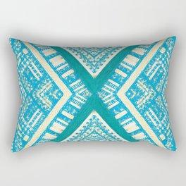 tibouda in turquoise Rectangular Pillow