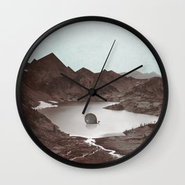 """I don't belong here"" Wall Clock"