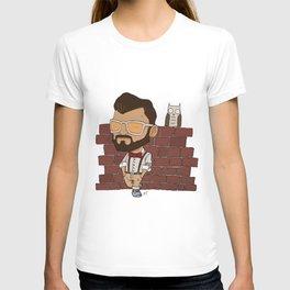 Owl and a Man T-shirt