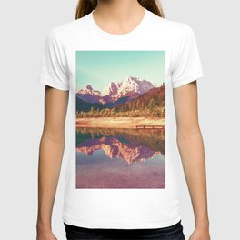 Mountain reflections T-shirt