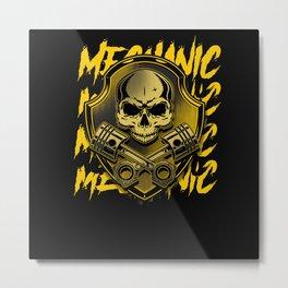 Mechanic Tools mechanics gift Metal Print