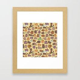 Beary Cute Bears Framed Art Print