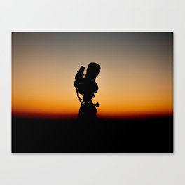 Imaging the Skies. Canvas Print