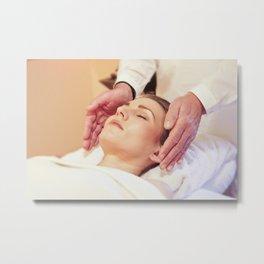 Massage Metal Print
