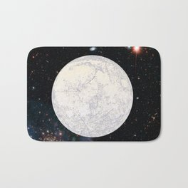 Moon machinations Bath Mat