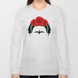Frida Kahlo: Te quiero mas que mi propia piel. Long Sleeve T-shirt