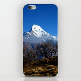 Panoramic View Of Annapurna Ghorepani Poon Hill iPhone Skin
