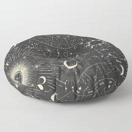 Mystic patterns Floor Pillow