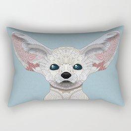 Fennec Fox Rectangular Pillow