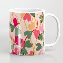 Never Give Up - Colourful Coffee Mug
