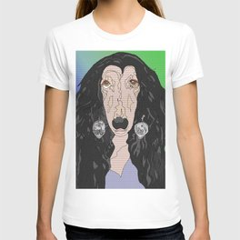 If I Could Turn Back, Dr Bear's Doggie Pop Art of Sher T-shirt