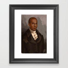Aaron Burr Framed Art Print
