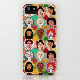 the colors of women iPhone Case