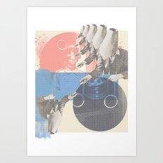 do you copy?? Art Print