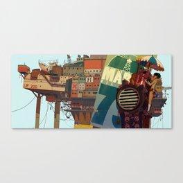 0_R Canvas Print