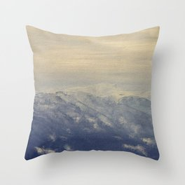 Yet another lake & mountain landscape | 4 Throw Pillow