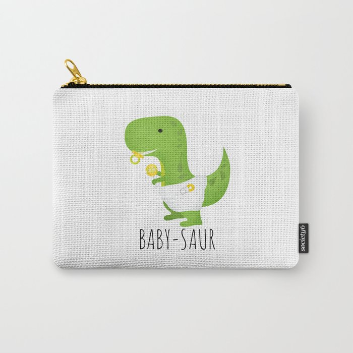 Baby-saur Carry-All Pouch