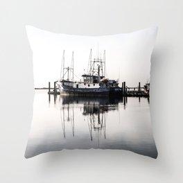 Steveston Marina Throw Pillow