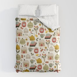 Summer Cottage Days Comforters