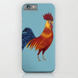 Rooster-3 iPhone Case