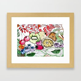 Fruit Harvest Framed Art Print