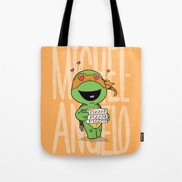 TMNT: Michelangelo (Cute & Dangerous) Tote Bag