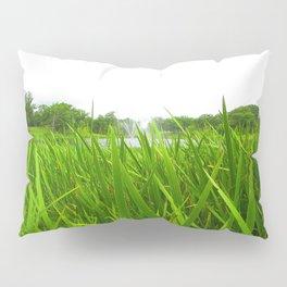 Grass in Focus Pillow Sham