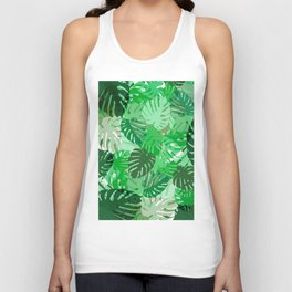 Emerald Jungle Unisex Tank Top
