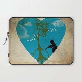 cultivating peace Laptop Sleeve