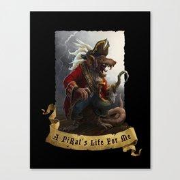 A PiRat's Life For Me Canvas Print