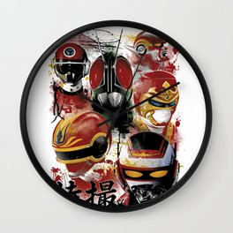 Tokusatsu Assemble's COLOR Wall Clock