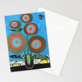 Blue Earth Flowers Stationery Cards