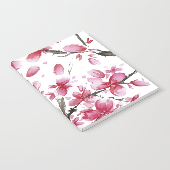 Cherry Blossoms #society6 #buyart Notebook