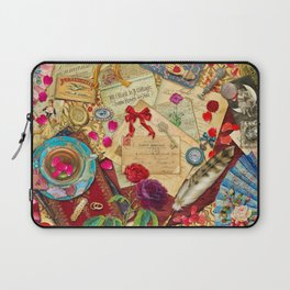 Vintage Love Letters Laptop Sleeve