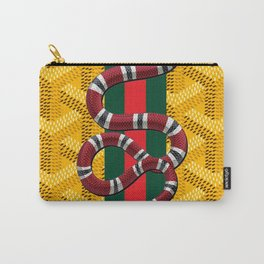 goyard snake yellow Carry-All Pouch