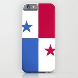 Panama flag emblem iPhone Case