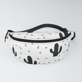 Cactuses abstract modern print simple Fanny Pack