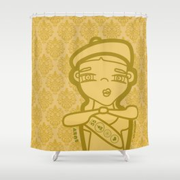 SUZY (duvet) Shower Curtain